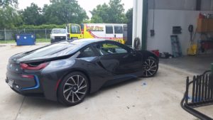 bmw i8 Cypress TX glass repair