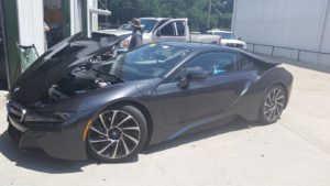 BMW i8 Cypress TX Windshield repair